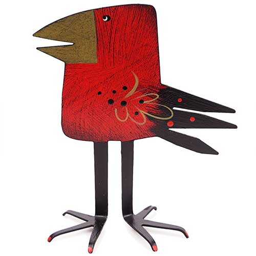 "Acme 5.5"" Square Head Red Bird DM206"