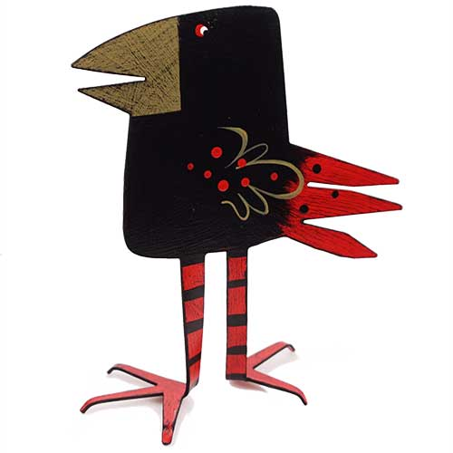 "Acme 5.5"" Square Head Black Bird DM207 SOLD"