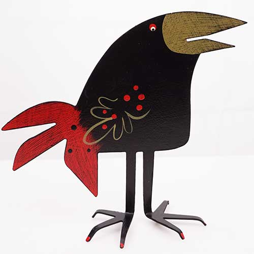 "Acme 5.5"" Round Head Black Bird DM208"