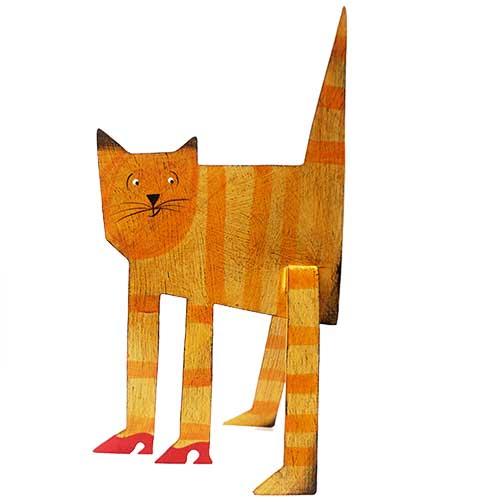 "Acme 10"" Standing Cat in Shoes DM218 SOLD"
