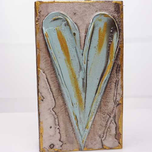 Art by Susan 3.5x6 Heart Block WP1390