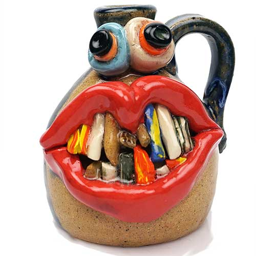"Bo Thompson 4"" Happy Mini Face Jug DP2008"