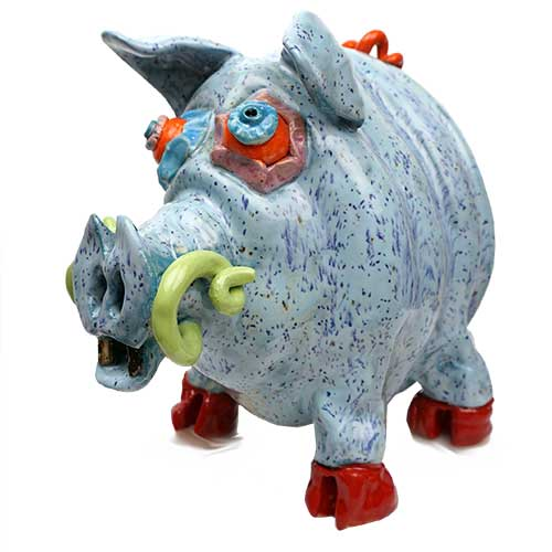"Bo Thompson 7"" Happy Pig DP2015 SOLD"