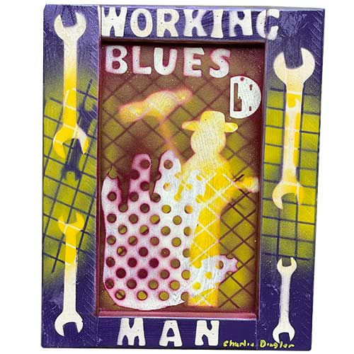 Charlie Dingler 12x15 Working Blues WP1577