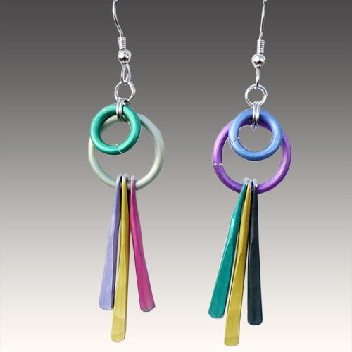 Eclat Hoops & Sticks Earrings JE3216