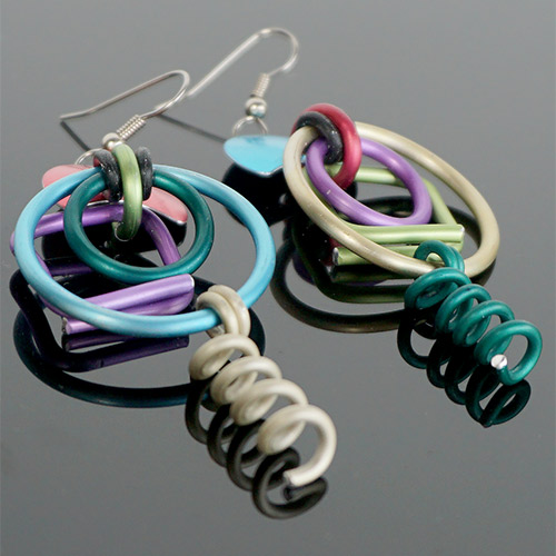 Eclat Hoops & Springs Earrings JE3492