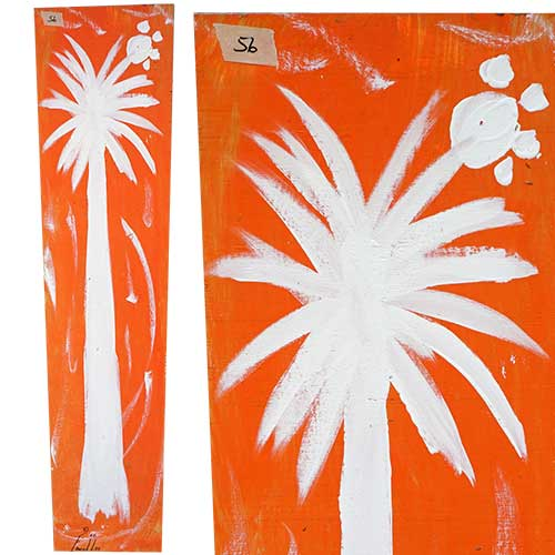 Ernest Lee 10x48 Palmetto Tree Panel WP1737