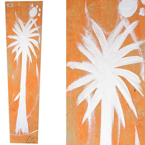 Ernest Lee 10x48 Palmetto Tree Panel WP1738
