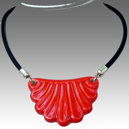 Henriot Montmartre Red Necklace JN1644