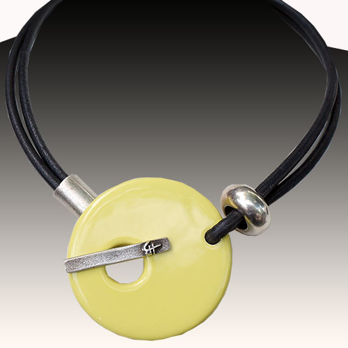 Henriot Colombo Lemon Necklace JN1807