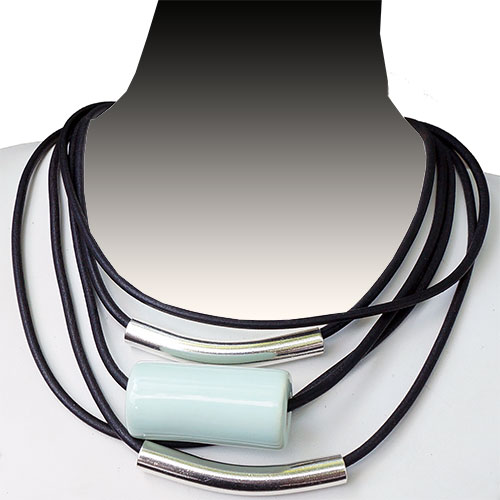 Henriot Avoriaz Mint Green Necklace JN1811