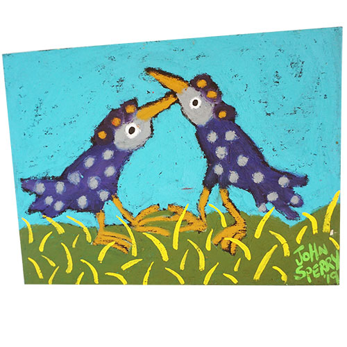 John Sperry Bird Friends 16x12 WP1183