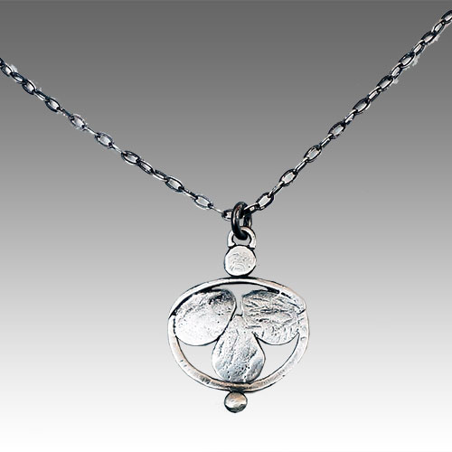 Julia Britell Necklace Teardrop Container JN1736 SOLD
