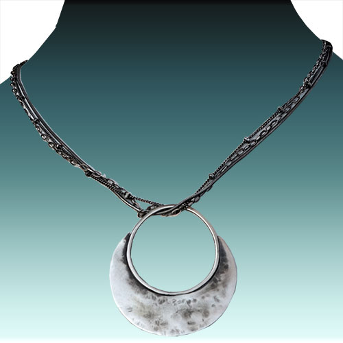 Julia Britell Necklace Halo JN1744 SOLD
