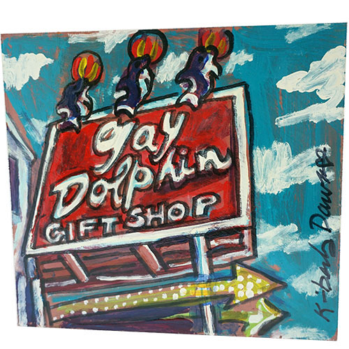 Kimberly Dawn 12x11 Gay Dolphin WP1190 SOLD