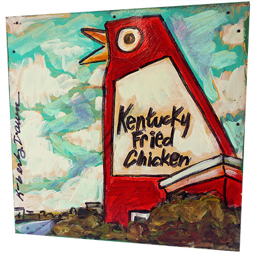 Kimberly Dawn 12x12 Kentucky Chicken WP1192