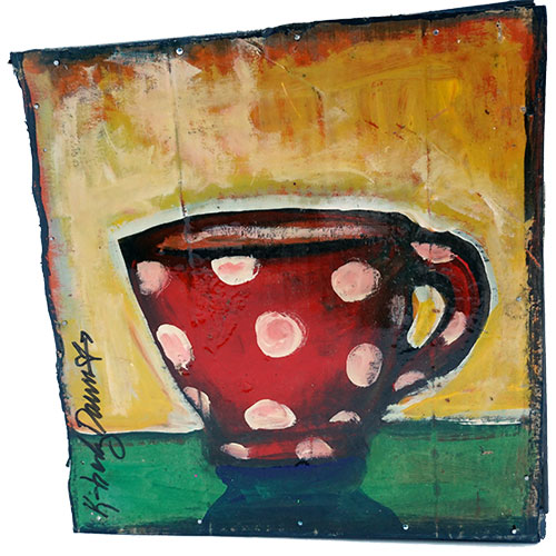 Kimberly Dawn 10x10 Coffee Cup WP1194