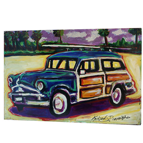 Kimberly Dawn 36x24 Wagon Memories WP1196