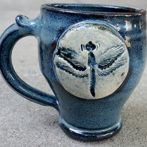Krause Dragonfly Mug CP599 SOLD