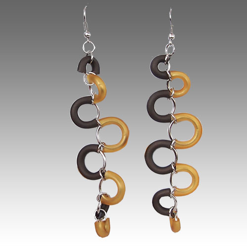 Perfectos Dragones Snake Earrings JE2187