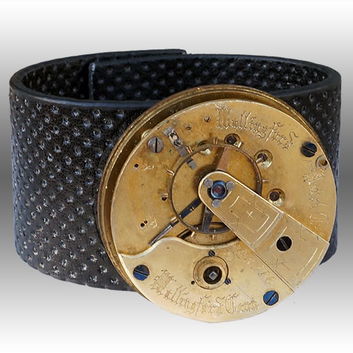 Rewind Vintage Watch Movement Cuff RJB237