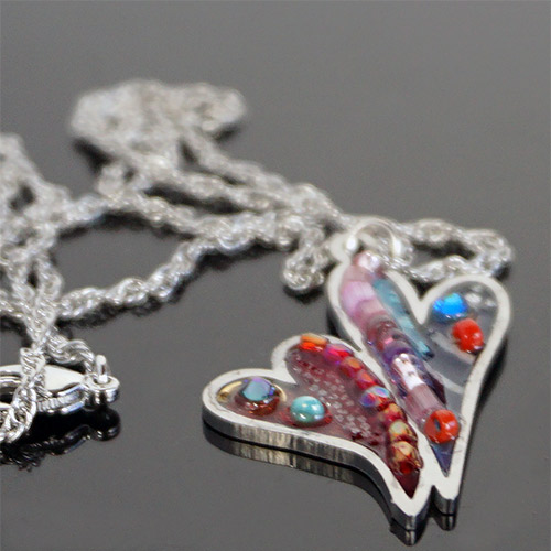 Seeka Heart Necklace JN1382
