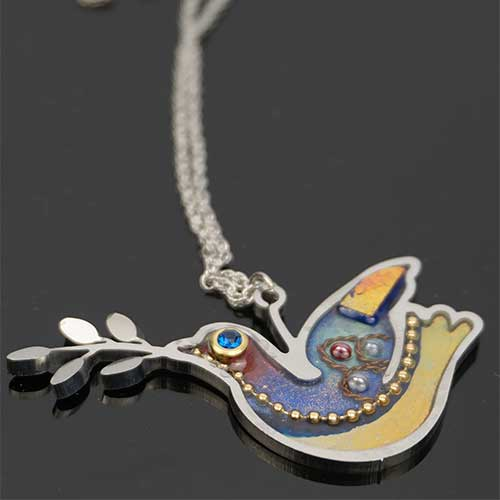 Seeka Dove Necklace JN2711