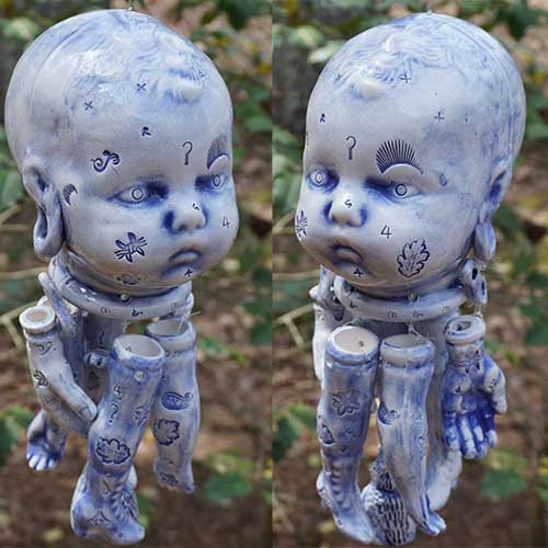 Stacy Lambert Baby Doll Wind Chime DP1994 SOLD