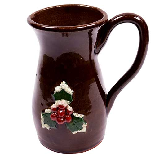 "Stanley Irvin 7"" Christmas Pitcher DP1722"