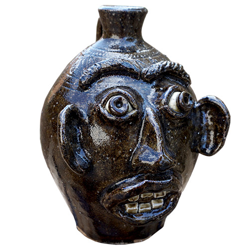 "Stephen Harrison 8"" Face Jug DP1387"