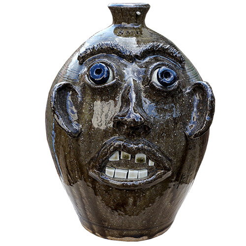 "Stephen Harrison Face Jug 13"" DP1391"
