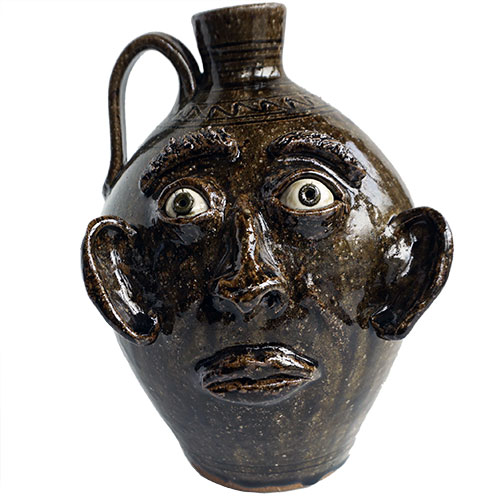 "Stephen Harrison 10"" Face Jug DP1622"