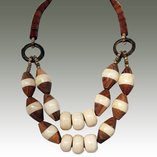 Webster Charla African Ebony Necklace JN2537
