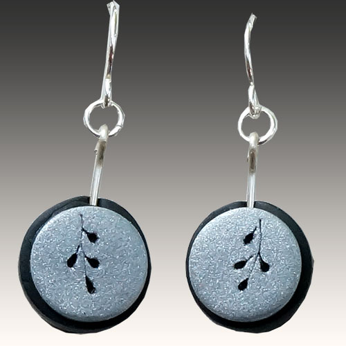 Wiwat Earrings Engraving JE2849 SOLD