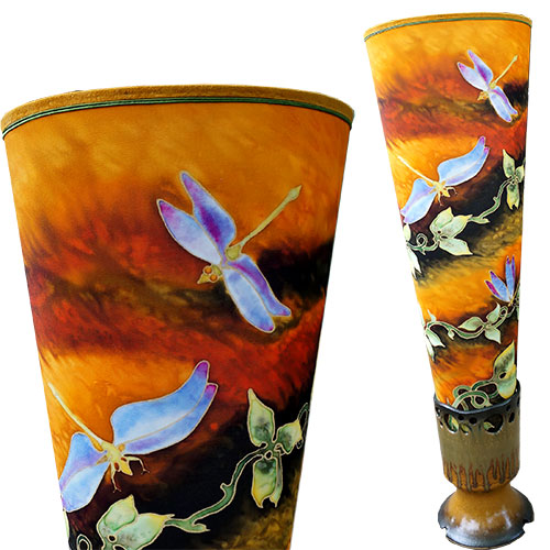 Woodsilks Dragonflies Large Lamp FL372
